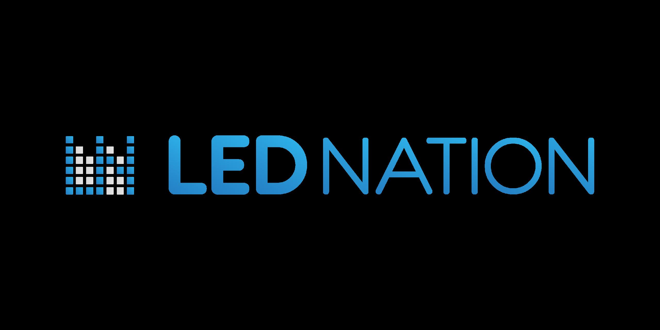 LED NATION - logo PNG 1 transparente